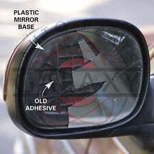 New Door Mirror Glass Complete- Passenger Side For Toyota Land Cruiser 91-97