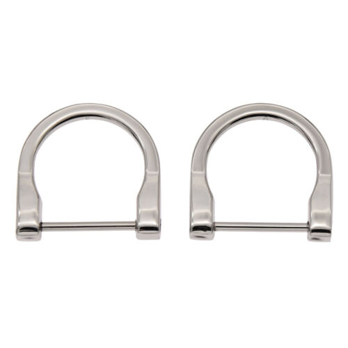 2pcs Detachable Metal D Ring Buckles Handbag Purse Bags Strap Belt Clasp DIY