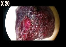 1 Rubis rouge brut de Madagascar 4,60 ct/ pierre précieuse / minéraux / corindon