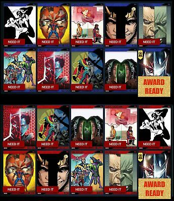 The New Mutants 8 Conjunto de cartão Topps Marvel coletar Digital Cartão Trader