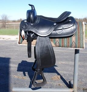 Extra Wide 9 Inch 18 Inch All Purpose Draft Horse English Saddle Pkg Hav Brown