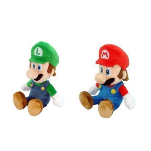 Little Buddy Mario Plush Doll Set Of 2 8  Mario & Luigi Toy Play MYTODDLER New