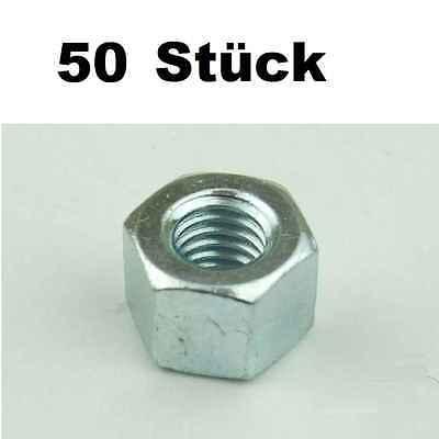 50x Sechskantmuttern M6 Rack-sechskant Mutter Für Rackschienen Rackmuttern Neu