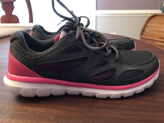 3c5ca113a4187c Champion C9 Women s Lightweight Running Shoes with Geofoam Size 9 Dark Grey  Pink