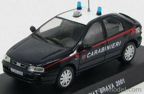 Edicola c049 scala 1//43 fiat brava carabinieri 2001 blue white