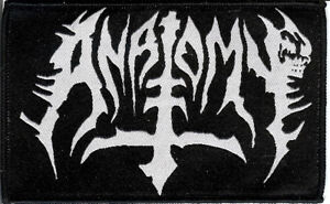 Anatomy-logo-Patch-Death-Metal-Abominator-Destroyer-666-Gospel-Of-The-Horns