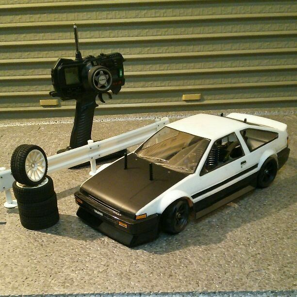 Radio control made by Tamiya 1 10 TG 10 Mk 1 Drift Specifications With Propo