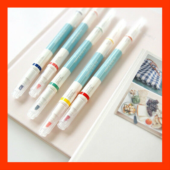 Brand New  5 Color Water Based Deco Pen Set - Iconic 2 Way Deco Pen