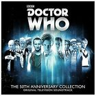 Doctor Who: The 50th Anniversary Collection [Original Television Soundtrack] [Abridged] by Various Artists (CD, Feb-2014, 2 Discs, Silva Screen)