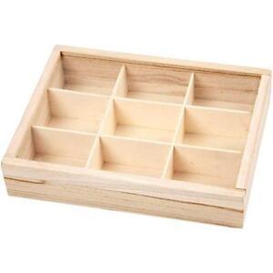 Image Is Loading Plain Wooden Plexi Sliding Lid Display Box Storage