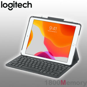 Logitech Slim Folio Case Bluetooth Keyboard For Apple Ipad