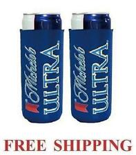 Michelob Ultra Slim Can 2 Cooler Coozie Coolie Koozie Huggie New Bud Budweiser