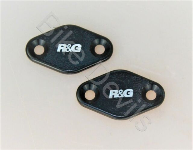 R/&G Mirror Blanking Plates For Aprilia 2012 RSV4 Factory