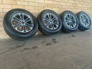 Mitsubishi-Triton-Genuine-18-inch-wheels-and-Dunlop-Tyres-Near-New-Set-of-4