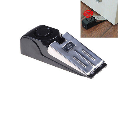 2 x Home Security Wedge Door Stop Alarm System Device Alert Detection P469