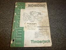 Timberjack 360D 460D 560D Cable Skidder Service Repair Shop Manual TM1880