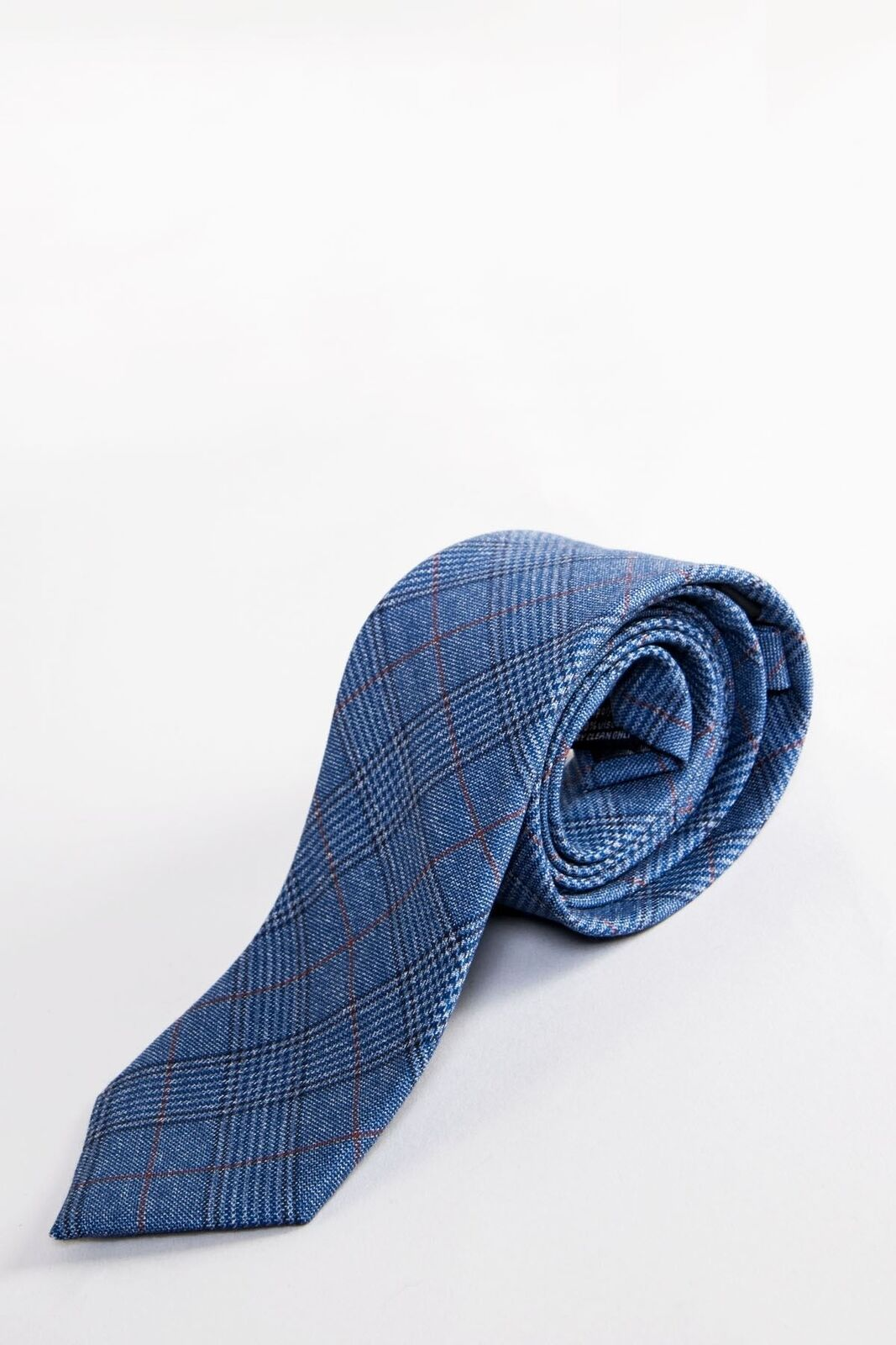 Mens Check Work Tie Formal Business Plaid Print Office Party Neck Tie