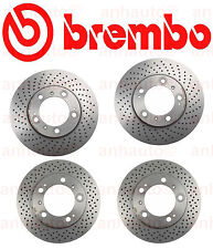 BREMBO  Brake Rotor Kit FRONT & REAR   Porsche 911 Carrera  1999-2008