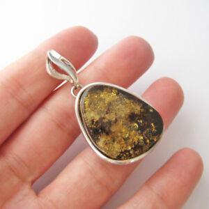Pendentif-ambre-vert-veritable-mer-baltique-argent-massif-925-PE174a