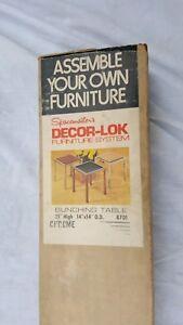 Vtg-Spacemaster-Decor-lok-Furniture-System-Bunching-Table-NIB-Chrome-70s-Retro