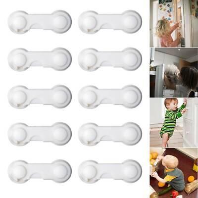10x Kindersicherung Schrankschloss Schubladensicherung Schutz Kinder Baby Sicher