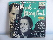LES PAUL and MARY FORD Meet mister Callaghan EAP 2 416