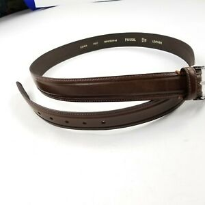 New-Fossil-Men-039-s-Belt-Brown-Leather-44