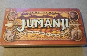 1995-Jumanji-Board-Game-Rare-Collectors-Item-New-and-Sealed-Milton-Bradley