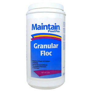Maintain Aqua Floc Swimming Pool Clarifier Flocculant - 5 Lbs ...