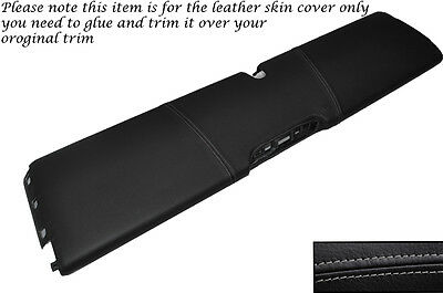GREY STITCH LOWER DASH PANEL LEATHER SKIN COVER FITS SMART FORTWO 451 07-14