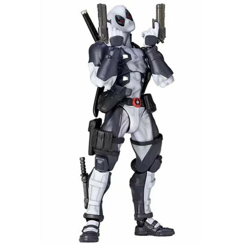 "6/"" Kaiyodo Amazing Yamaguchi Deadpool X-Force PVC Action Figure Toys Collectible"