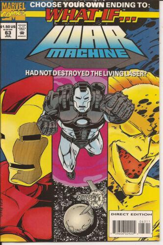 WAR MACHINE * WHAT IF # 63