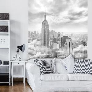 FOTOTAPETEN FOTOTAPETE TAPETE POSTER Nebel Stadt New York Blick Foto 3FX10311P4A