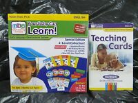 Your My Baby Can Learn / Read Vol 1-4 Dvd, Extra Addt'l Teaching Cards