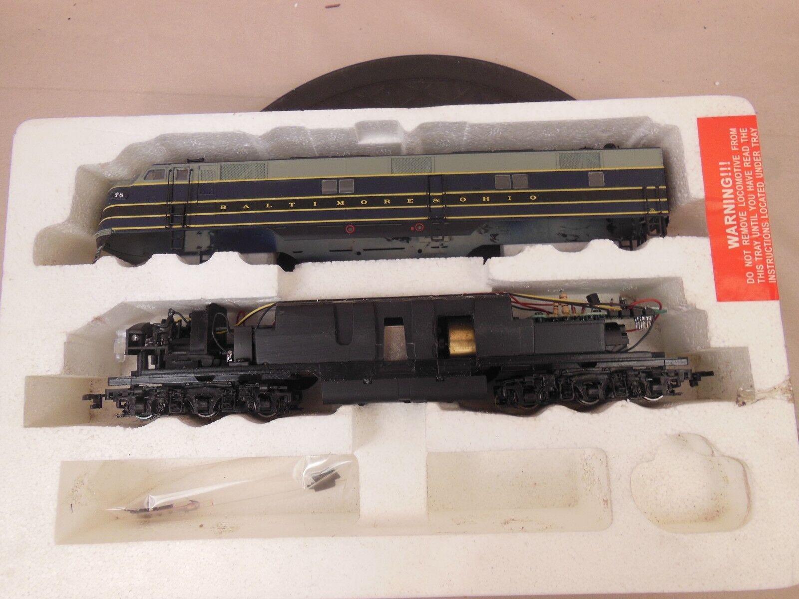 Ho Proto 2018 Baltimore & Ohio Locomotora E7 78
