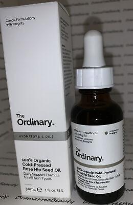 The Ordinary 100% Organic Cold-Pressed * ROSE HIP Seed Oil * 30ml./1fl.oz. BNIB 769915190342 | eBay