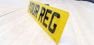 HIGH-QUALITY-Rear-Road-Legal-Number-Plate-Car-Van-100-MOT-Compliant-FREE-SHIP