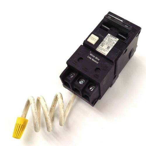 Siemens Ground Fault Circuit Breaker 2 poles 30Amps Type BLHF Free Shipping