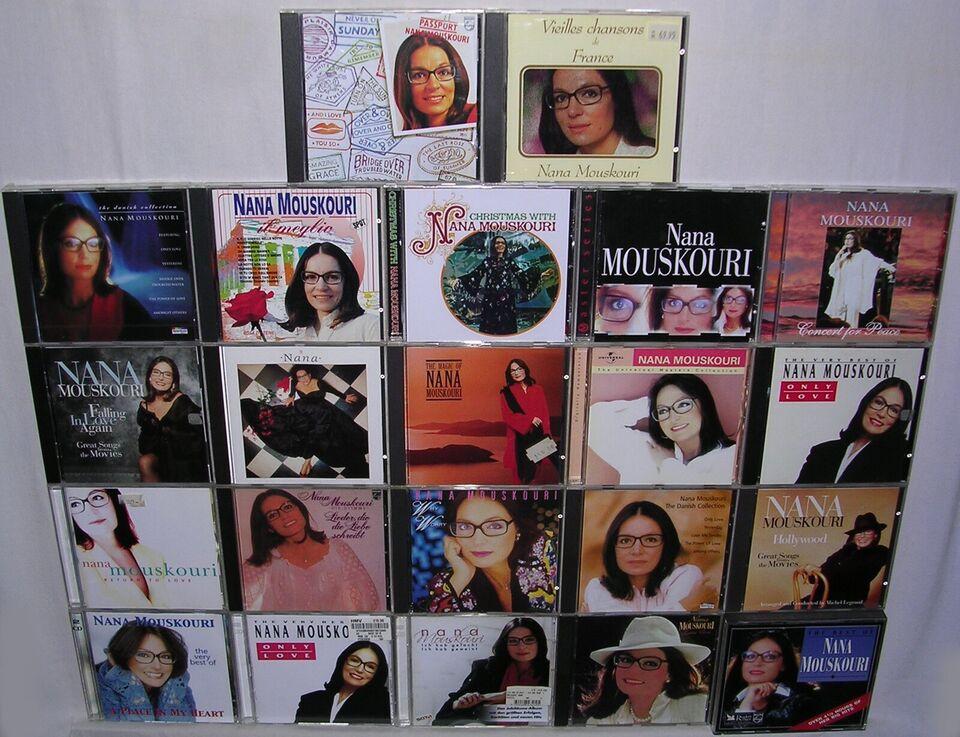 Nana Mouskouri: Blandet, pop