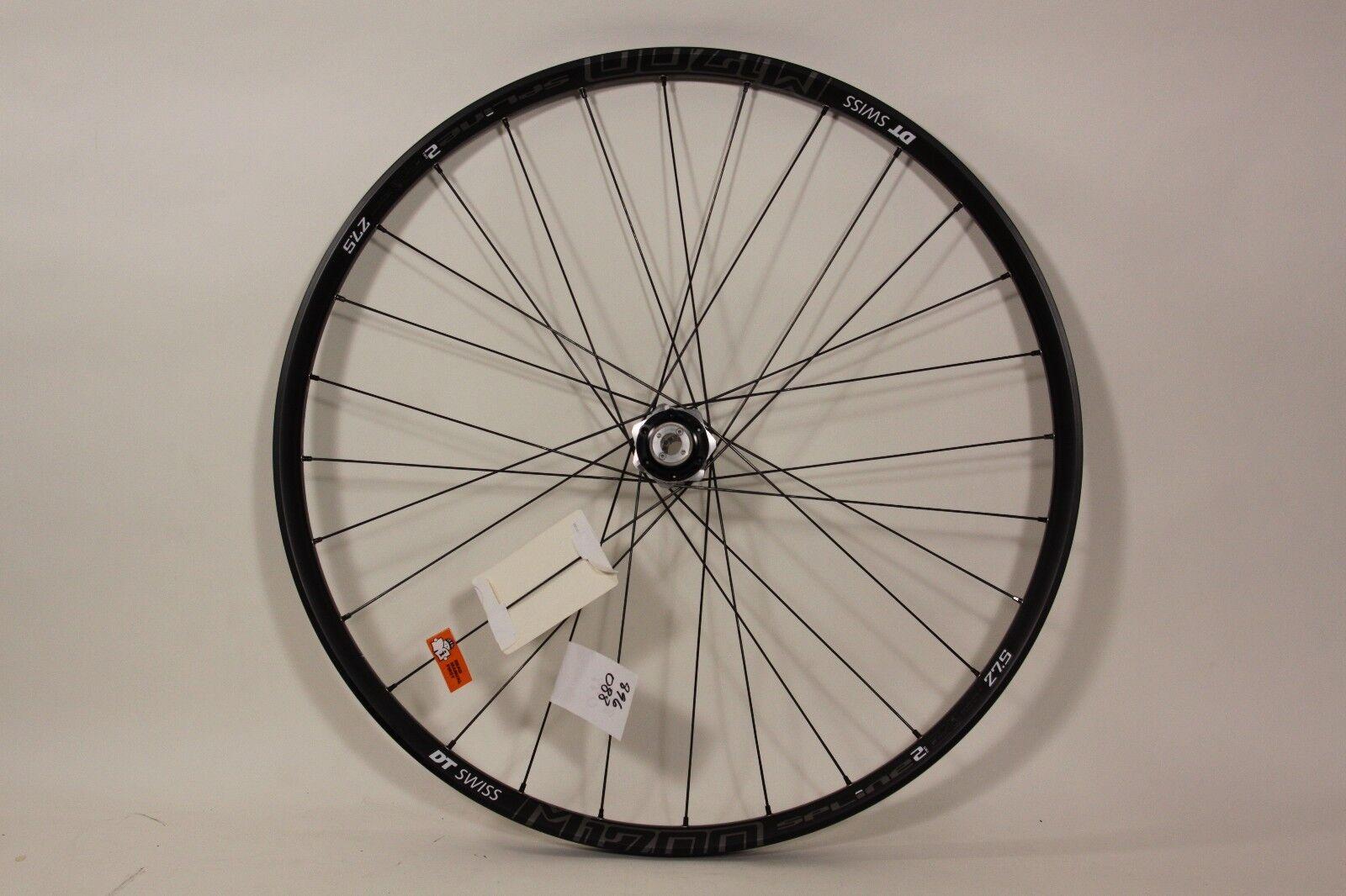 DT Swiss 27.5  Front Wheel M 1700 Spline2 15x110mm Axle 28h 6 bolt Boost 896088