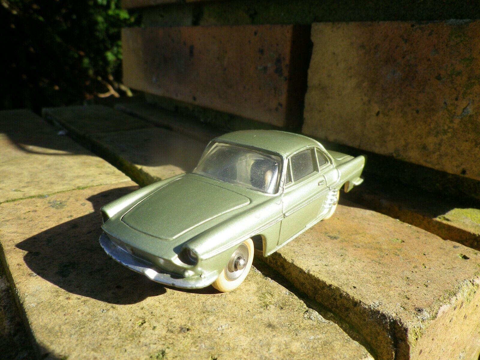 DINKY TOYS 543 RENAULT FLORIDE verdee made in FRANCE 1958 TRES BON ETAT