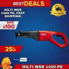 Hilti Wsr 1400 Pe Reciprocating Saw Brand New Avr Amp Smart Power Fast Shipping