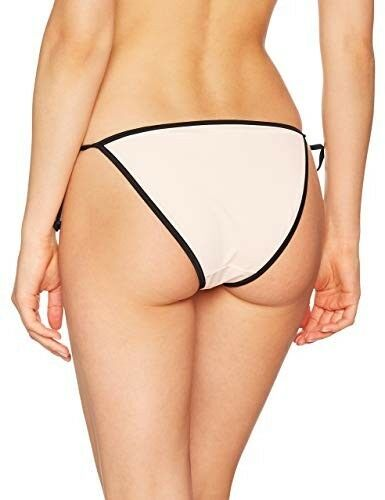 pink /& black UK 8 BRAND NEW New Look Women/'s Applique Tie Side Bikini Bottoms