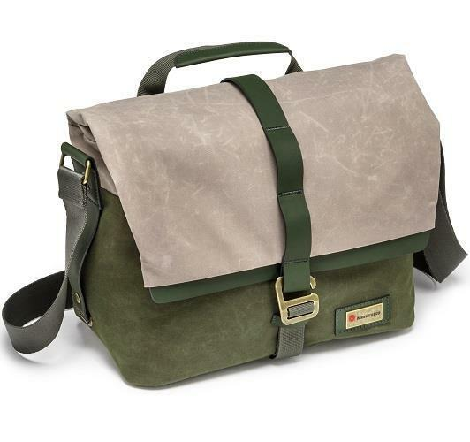 Manfrotto Woodland Medium Messenger Shoulder Bag - Green