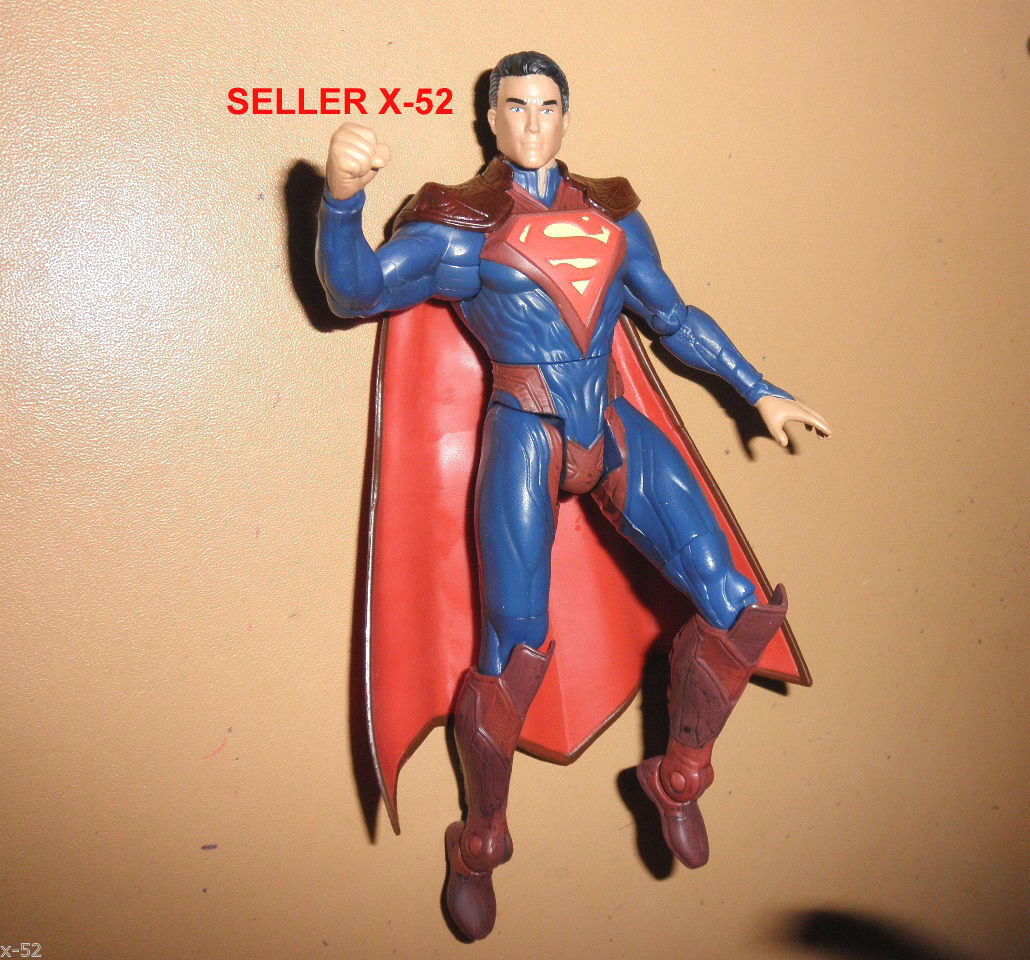 INJUSTICE SUPERMAN DC UNIVERSE toy Man of Steel Game figure GODS among US