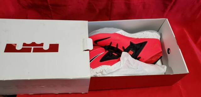 b4c010bb74287 Nike Mens Lebron Soldier 7 Red Size 11 Basketball SNEAKERS for sale ...