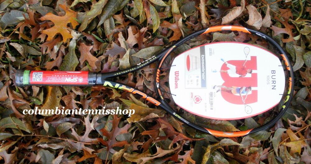 Nuevo  Wilson grabar 100S Sensor de tenis Spin 18X16 Inteligente Listo  el mejor servicio post-venta