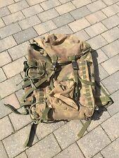 Genuine British Army DPM IRR Short Convulted Back Bergen Rucksack Pack GRADE 2
