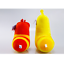 Korea-Hilarious-Insect-Larva-4-034-2PCS-Farting-Larva-Plush-Toy-Birthday-Xmas-Gift thumbnail 6