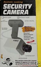 FAKE  DUMMY MOTION ACTIVATED SECURITY MOTION DETECTOR CAMERA WITH LIGHT